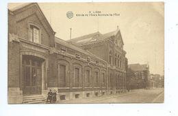 Liège Entrée De L'Ecole Normale De L'Etat - Liege