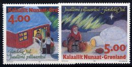 GREENLAND 1994 Christmas MNH / **.  Michel 254-55 - Greenland