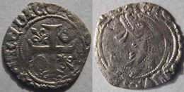Nouvelle Aquitaine Vienne Poitiers 13434 Liard Au Dauphin Charles VII Couronne Initiale Avers Et Revers - 1422-1461 Karel VII Van Frankrijk