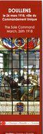 Doullens - Ville Du Commandement Unique  1918 - Bookmarks