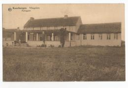 Keerbergen Vliegplein Oude Postkaart Aérogare Terrain Plaine D'Aviation - Keerbergen