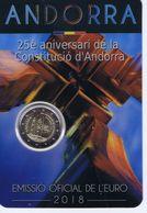 Andorra -  2 Euro Commemorativo 2018 -  Costituzione - Andorra