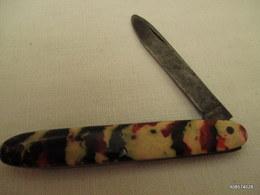 Canif Multicolor Pas De Marque  Tres Bon état - Knives/Swords