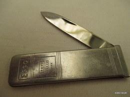 Canif  Fer  Esso    Tres Bon état - Knives/Swords
