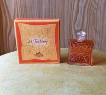 """Miniature  """"24, FAUBOURG """"de HERMES Eau De Toilette  7,5 Ml Dans Sa  Boite (M076) - Miniatures Womens' Fragrances (in Box)"""