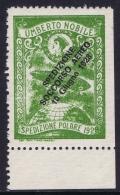 Italy: 1928 Artic Polar Expedition Umberto Nobile Zepplin, Surcharge Spedizione Soccorso Aereo 10 Giugno 1928 MNH/** - Posta Aerea