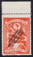Italy: 1928 Artic Polar Expedition Umberto Nobile Zepplin, Surcharge Spedizione Soccorso Aereo 10 Giugno 1928 MNH/** - 1900-44 Vittorio Emanuele III