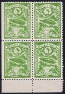 Italy: 1928 Artic Polar Expedition Umberto Nobile Zepplin, Postfrisch/neuf Sans Charniere /MNH/** 4-block - 1900-44 Victor Emmanuel III