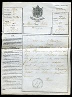 Vieux Papiers - Télégramme Du Havre En 1864 - Collections