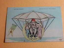 CPA LES ROIS VOLANTS MAHOMET V ET SON PARC A CHAHUT /ORENS - Künstlerkarten