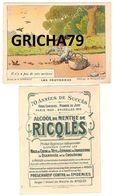 CHROMO RICQLES LES PROVERBES SIGNE H GERBAULT (IL N Y A PAS DE SOTS METIERS) - Trade Cards