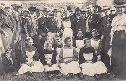 CONCARNEAU : Jos Parker, Les Lauréates Et Le Comité - Fête Des Filets Bleus (1908 ?) - Superbe ! - Concarneau