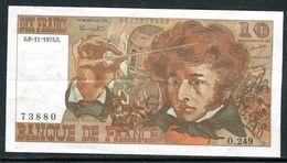 Billets - Berlioz  De 1975 Sans Trous D 'épingle , Trace De Pli En Croix Non Marqué , Billet Non Lavé , Craquant - 1962-1997 ''Francs''