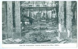 1916, Ireland, Dublin, Rebellion, After The Insurrection. Printed Pc, Unused. - Dublin