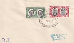 RODHESIE DU SUD 1947 LETTRE AVEC CACHET ROYAL TOUR - Southern Rhodesia (...-1964)
