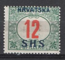 Jugoslavia SHS 1919 Segnatasse Unif.S4 */MH VF/F - Unused Stamps