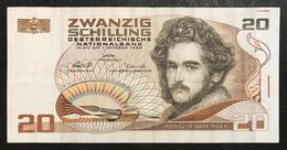 Austria 20 SCHILLING 1986  Lotto 1984 - Austria