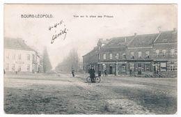 Bourg-Léopold - Vue Sur La Place Des Princes 1911  (Geanimeerd) - Leopoldsburg