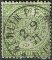 NDP 1/3 Gr Freimarke, Michel 14, Gestempelt K1 Berlin (1-602) - Norddeutscher Postbezirk
