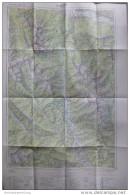 130 Oberzeiring 1969  - Österreichische Karte 1:50.000 - Herausgegeben Vom Bundesamt Für Eich- U. Vermessungswesen (Land - Wereldkaarten