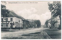 Bourg-Léopold - Route Du Canal 1912 (2 Scan's) - Leopoldsburg