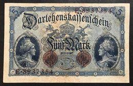 GERMANIA ALEMANIA GERMANY  5 MARK 1914   LOTTO 1987 - 5 Mark