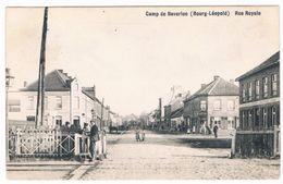 Camp De Beverloo (Bourg-Léopold) Rue Royale 19..  (Geanimeerd) - Leopoldsburg