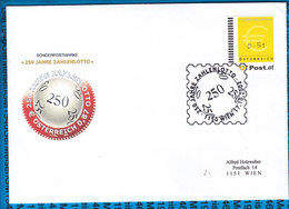 Austria Couvert 250 Jahre Zahlenlotto - Stamped Stationery