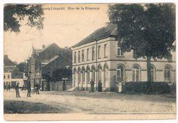 Bourg-Léopold - Rue De La Régence 1920 (Geanimeerd) - Leopoldsburg