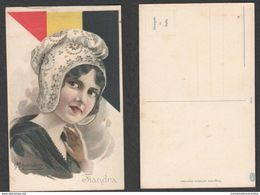 Belgique Belgium Flanders FIANDRA Costumes Folklore Costumi / Abiti / Abbigliamento Cpa  M. Cherubini - Vestuarios