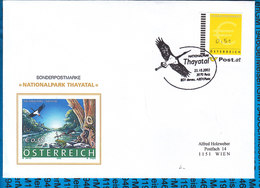 Austria Couvert Nationalpark Thayatal - Entiers Postaux