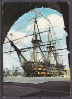 SHIP  ,  OLD  POSTCARD - Barche