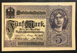 GERMANIA ALEMANIA GERMANY  5 MARK 1917 Sup   LOTTO 1988 - [ 2] 1871-1918 : Impero Tedesco