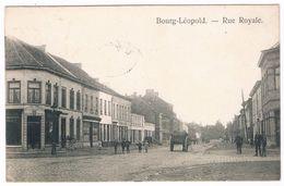 Bourg-Léopold - Rue Royale 1912 - Leopoldsburg