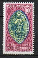 1953 Vaticano Pier Lombardo INTEGRO N 173 MNH**  Sassone 60 € - Vaticaanstad