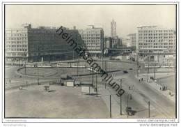 Berlin-Mitte - Alexanderplatz - AK-Foto Handabzug 1956 - Mitte