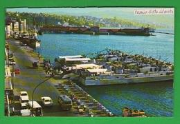 Turchia Turkey Izmir Corvette Militari Navi Navir Port Cpa Anni '70 - Turchia