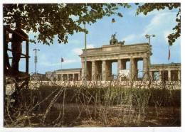 Cards AA74 Germany 1960th Mint Berlin Brandenburg Gate Wall - Unclassified