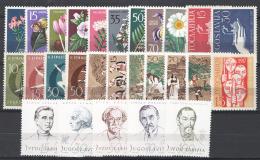 Jugoslavia 1957 Annata Completa / Complete Year Set **/MNH VF - 1945-1992 Repubblica Socialista Federale Di Jugoslavia