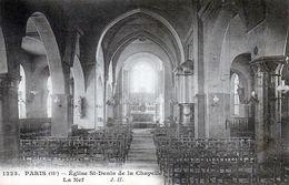 Paris (18e). Eglise St-Denis De La Chapelle. La Nef. - Paris (18)