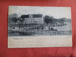 Germany >    Germany > Schleswig-Holstein  Tonning Hafen L  Has Stamp & Cancel  Ref 3008 - Germany