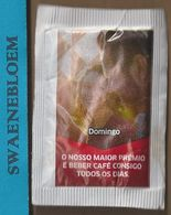 Suikerzakje.- Portugal 1 X Sachet De Sucre. Delta Cafés. DOMINGO. MARCA DE CONFIANCA 2016 - Sugars