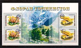 Tajikistan. 2018 Mushrooms. Overprint. - Tajikistan