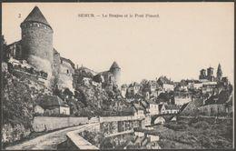 Le Donjon Et Le Pont Pinard, Semur, Côte-d'Or, C.1910 - Neurdein CPA - Semur