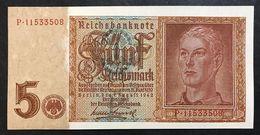 GERMANIA ALEMANIA GERMANY  5 MARK 1942 Q.fds   LOTTO 1991 - [ 4] 1933-1945 : Terzo  Reich