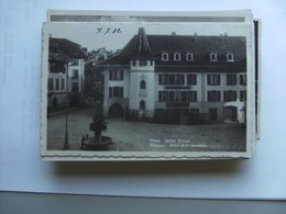 Zwitserland Schweiz Suisse  BE Thun Hotel Krone - BE Berne