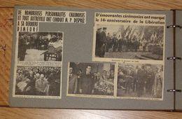 Chauny Aisne - Gros Album De +de 200 Coupures De Journaux Presse Locale - Actualités Tous Thèmes ... Années 50/60 - Chauny