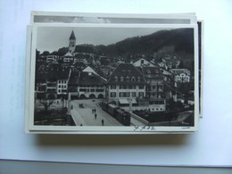 Zwitserland Schweiz Suisse  BE Thun Stadtpanorama Mit Tram - BE Berne