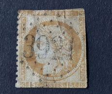 CERES 15c Brun Obl GC 3921 - 1849-1850 Ceres