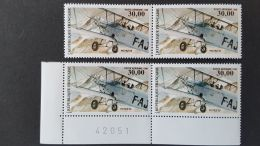 France Poste Aérienne - X4 - POTEZ 25 - 30f - NEUFS -  Gomme Ok  - Sans Charnière - Poste Aérienne